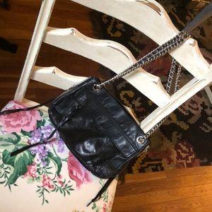 Rebecca Minkoff black leather purse
